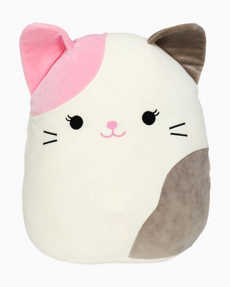 Squishmallows Pink And Grey Cat Super Soft Plush Toy 12 In The Paper Store