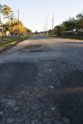 North end of Sentinel Drive in Flour Bluff