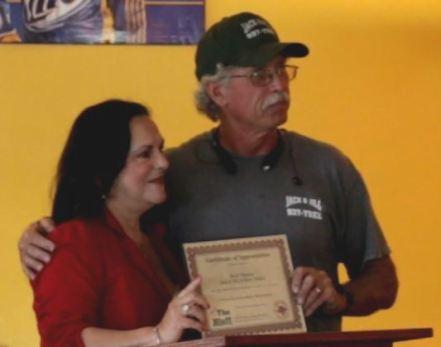 Spotlight Award recipient, Mark Thomas of Jack and Jill of Many Trades