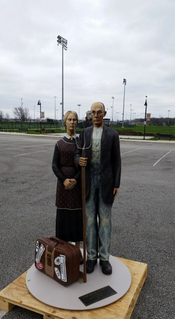 Crown Point American Gothic