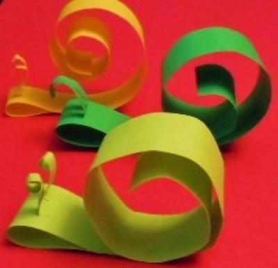 paper snail