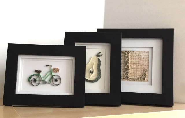 QuillingPaperArtFramed - How to Frame Quilling Paper Art || www.thepaperycraftery.com