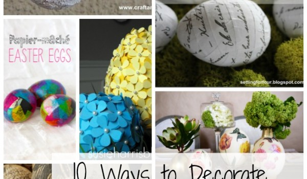 Easter Egg Paper Craft Round Up