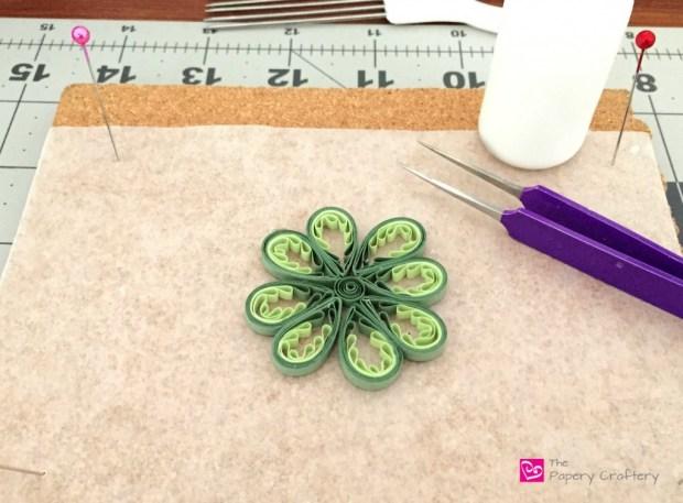 Quilling Paper 4 Leaf Clover
