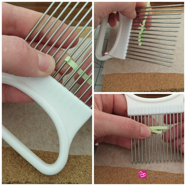 Sharmrock on a Quilling Comb