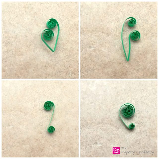 How to Make Quilling Paper Scrolls || Quilling Basics || www.thepaperycraftery.com