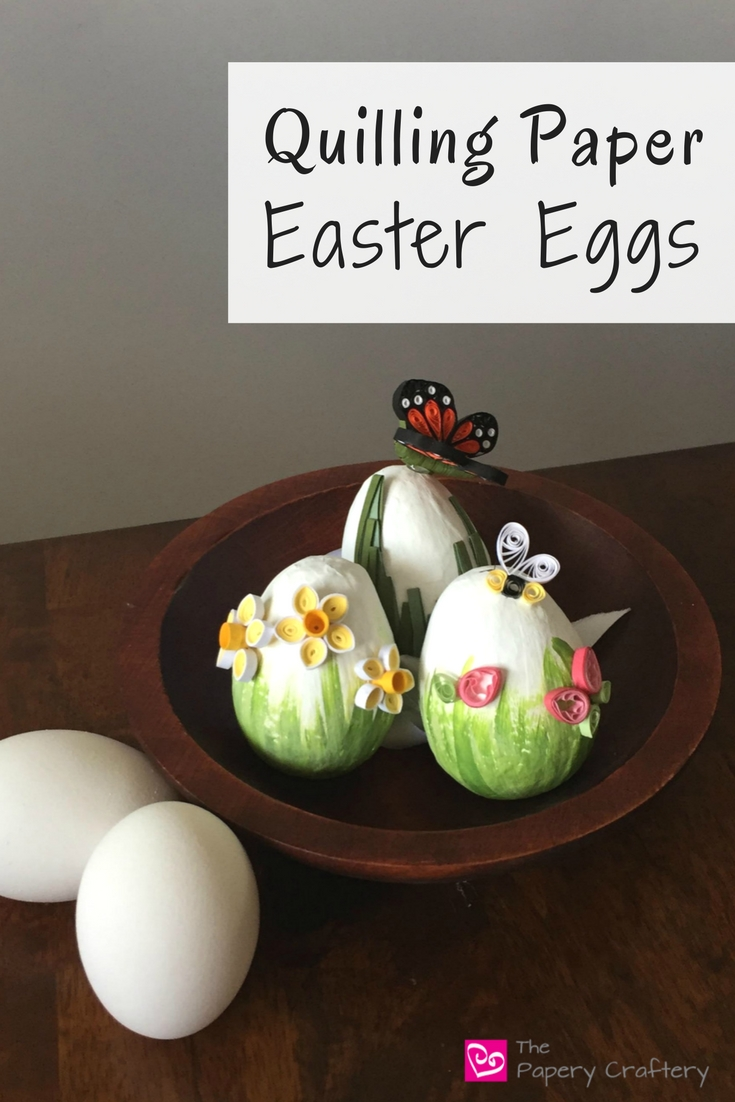 Quilling Paper Easter Eggs