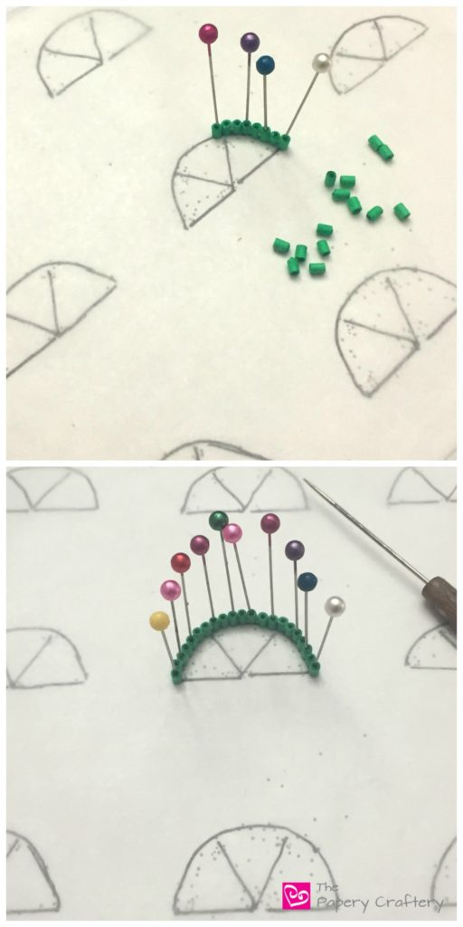 Quilling Paper Watermelon ~ A simple summer quilling craft for scrapbooks and cards || www.thepaperycraftery.com