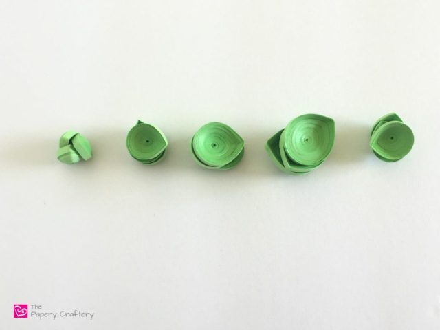 Quilling Paper Succulents - The paper craft version of these sweet and trendy plants -- www.thepaperycraftery.com