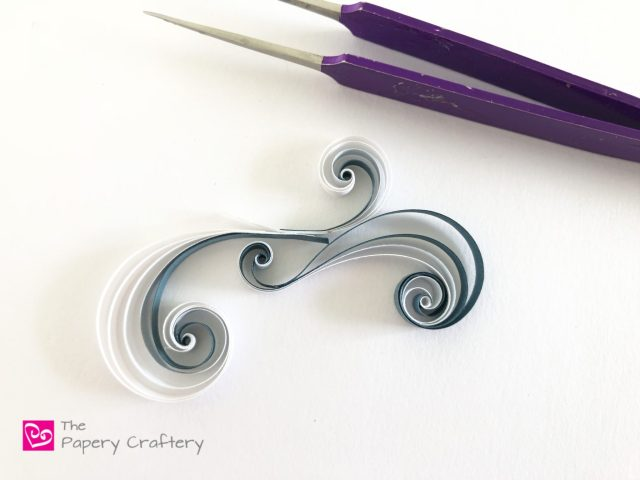 make swirls, togetherlike a puzzle