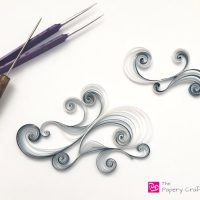 Quilling Paper Clouds