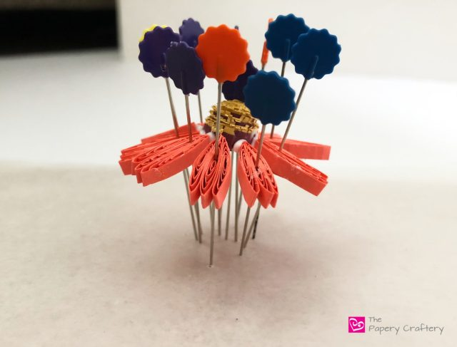 Quilling Paper Coneflowers ~ Say goodbye to summer with new quilling techniques for these colorful coneflowers    www.ThePaperyCraftery.com