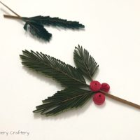 Quilling Paper Pine Needles