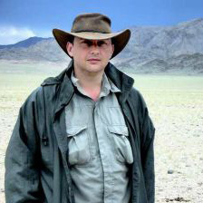Cryptid Hunter Adam Davies in Mongolia