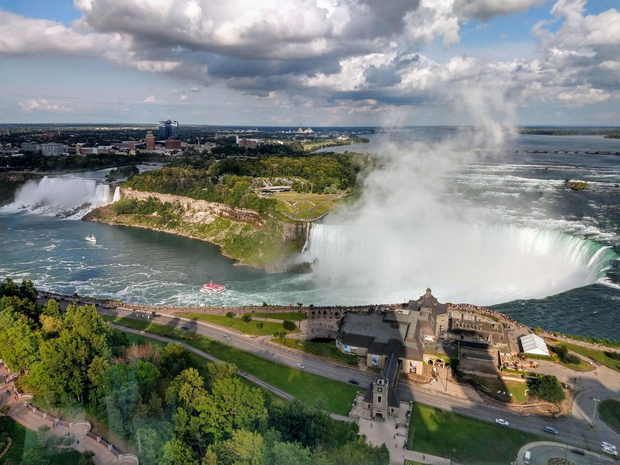 Niagara Falls View 32nd floor Fallsview Embassy Suites