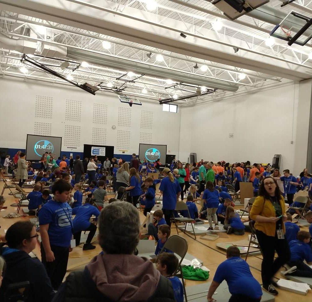 Rube Goldberg 2019 Gym