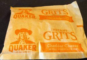 Quaker Grits Cheddar Cheese Flavor