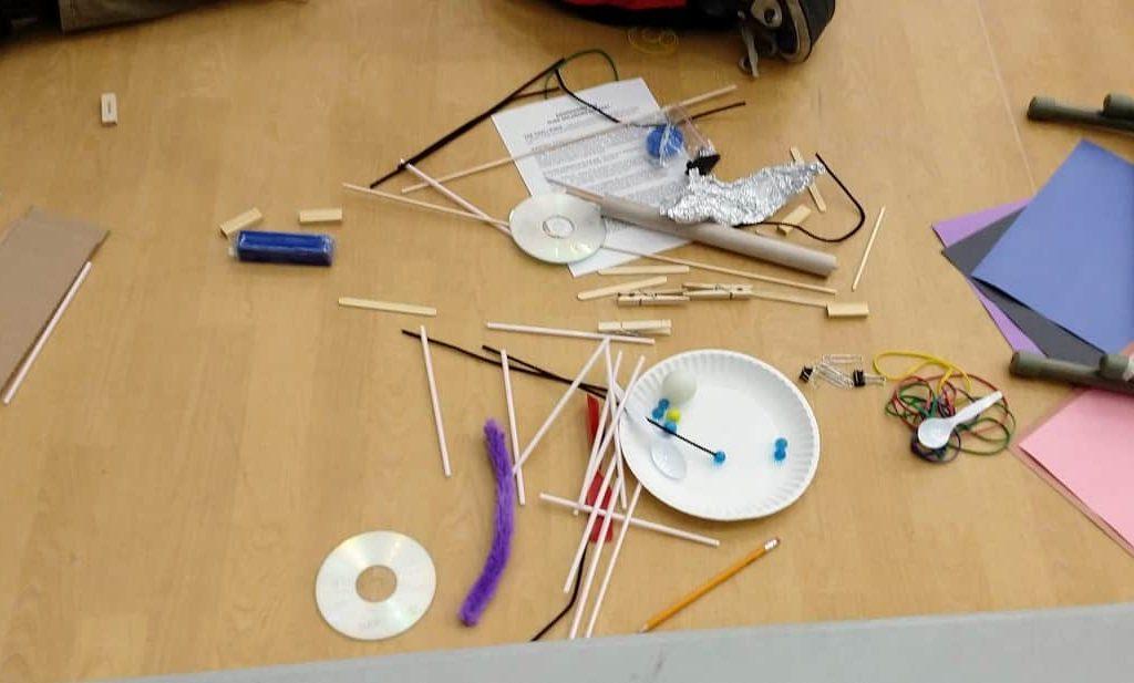 Rube Goldberg Competition - Materials to build machine