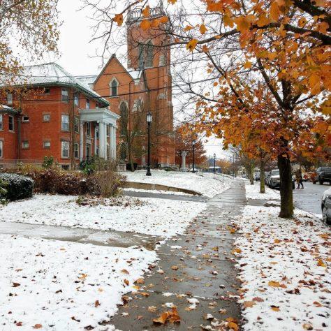St Patricks Church Snow