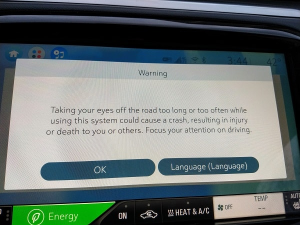 Stupid warning sign