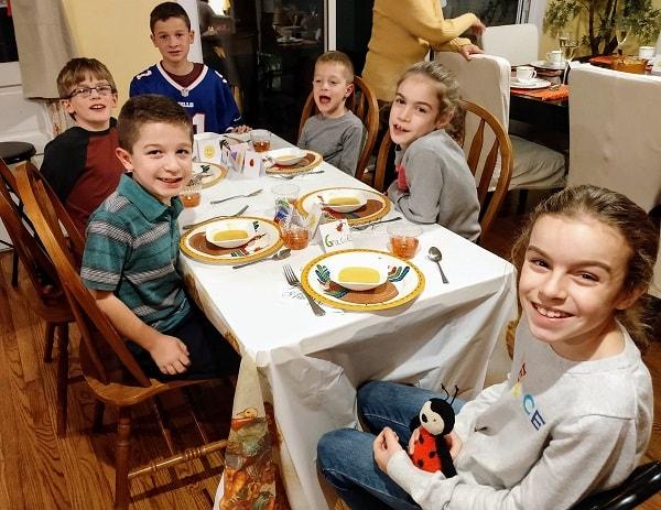 Kids Thanksgiving 2019