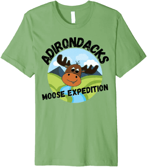 Adirondack Moose t-shirt