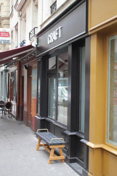 café CRAFT rue des Vinaigriers