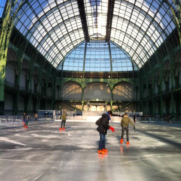 patinoire éphémère Grand Palais