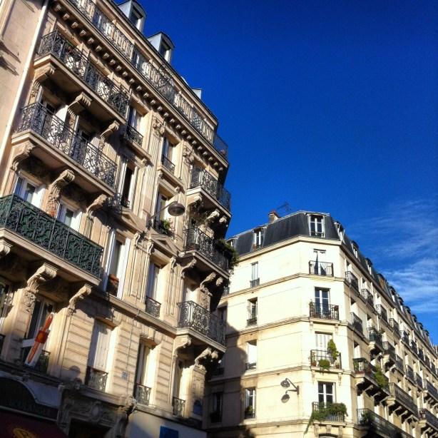 façades haussmaniennes Paris