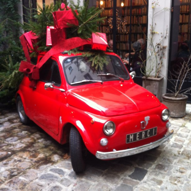 Fiat 500 Merci store Paris