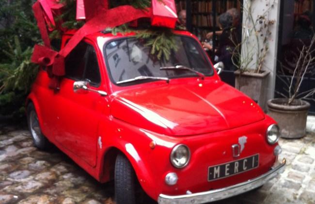 Fiat 500 Merci store Paris