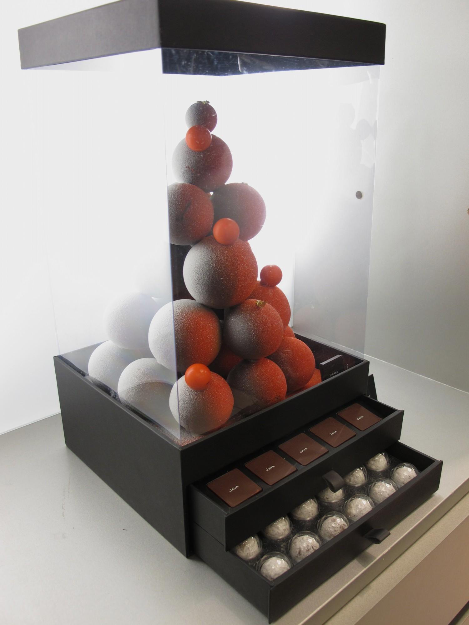Noël sapin chocolat Pierre Marcolini