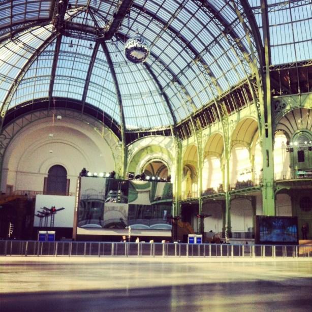 patinoire Grand Palais des glaces