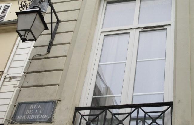 rue de la sourdière paris