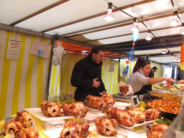 volaille marché parisien