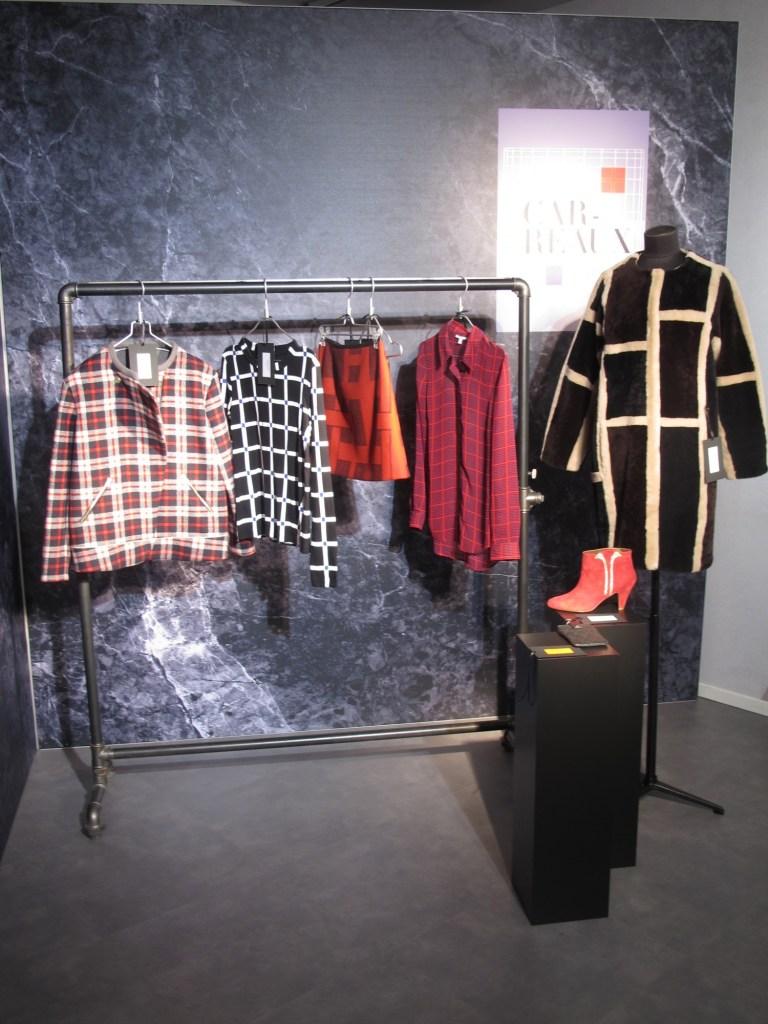 Galeries Lafayette AW2013 carreaux