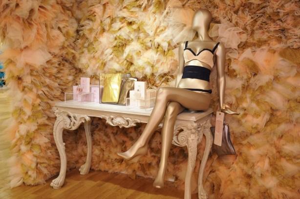 Espace lingerie par Dominique Maitre