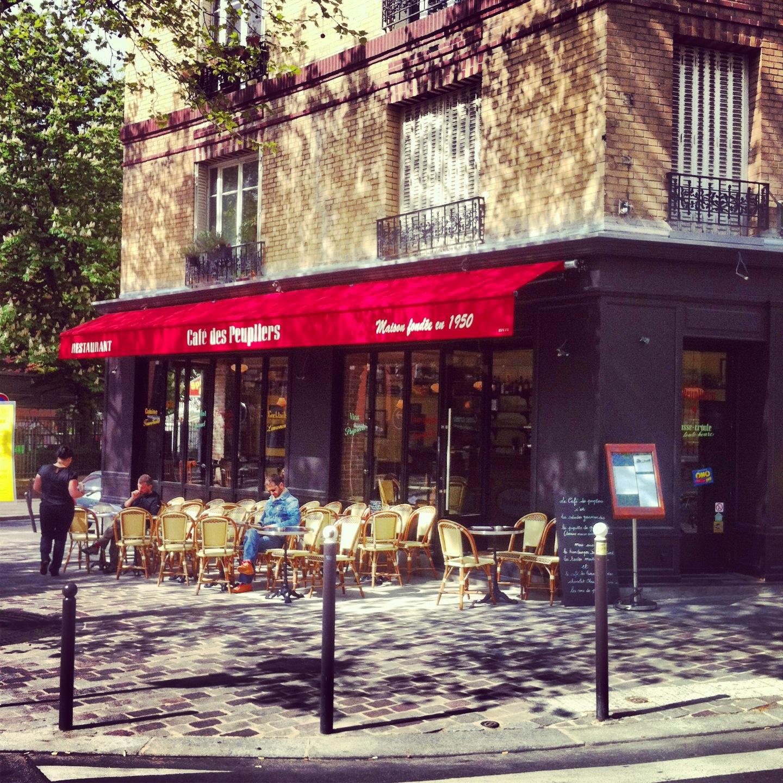 Cafe Des Peupliers Paris
