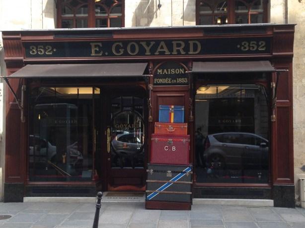 rue Saint Honoré Goyard