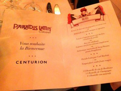 Paradis Latin centurion