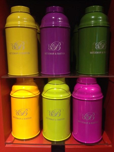 biberons de couleurs Betjeman & barton