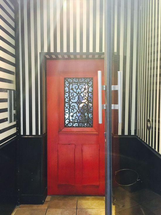 little red door