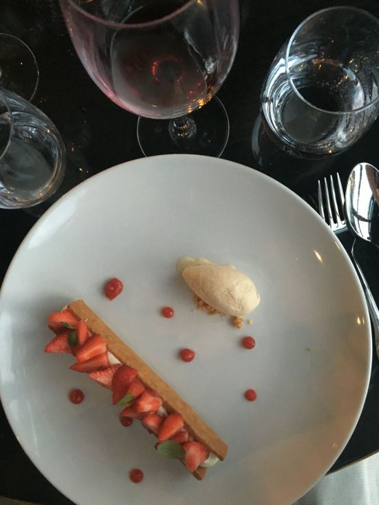 Tarte fraise - LE Flow
