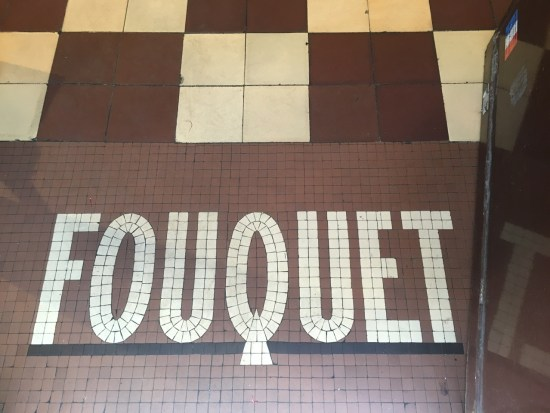 Fouquet chocolats Paris