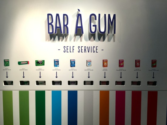 Bar à gum