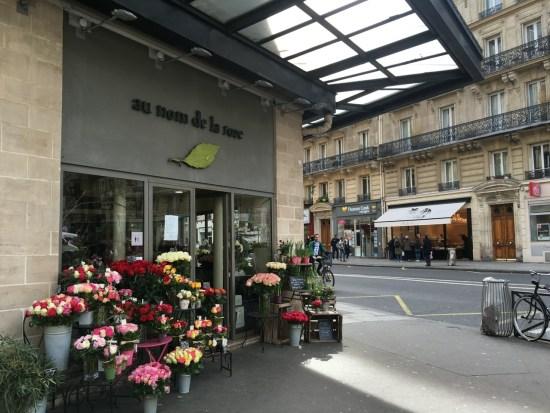 fleuristes parisiens - au nom de la rose