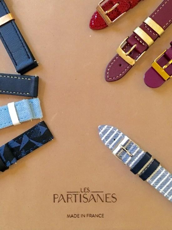 bracelet de montre Les Partisanes - prototypes