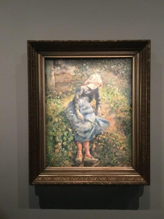 Camille Pissarro - la bergère bretonne