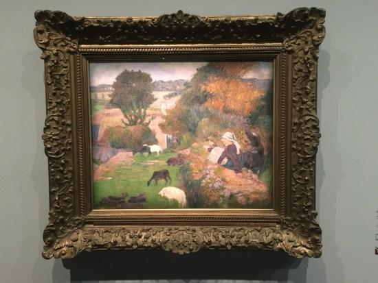 Paul Gauguin - la bergère bretonne