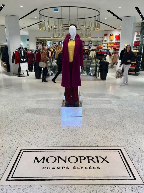 Monoprix Champs Elysées